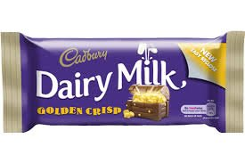 Cadbury Dairy Milk Golden Crisp 54g