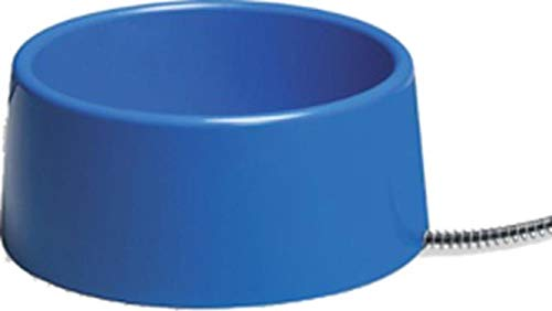 Allied Plastic Heated Pet Bowl,  5-Quart (Bowl Heated Allied)