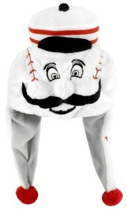 MLB Cincinnati Reds Thematic Mascot Dangle Hat