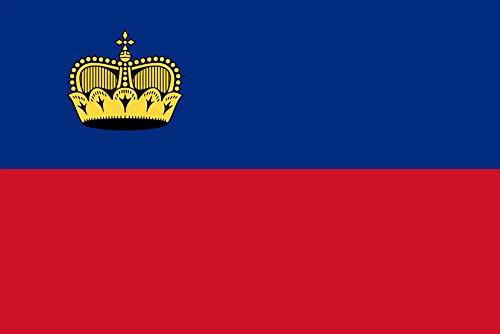 LIECHTENSTEIN FLAG FRIDGE MAGNET REFRIGERATOR MAGNET