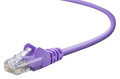 Belkin 25ft  CAT5E Purple Patch Cord Snagless
