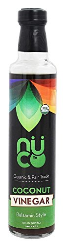 Nuco Organic Coconut Vinegar, Balsamic, 8 Ounce