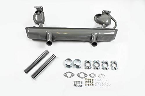 Auspuffanlage komplett Auspuff Anbausatz Endrohre 8120000210 X-Parts