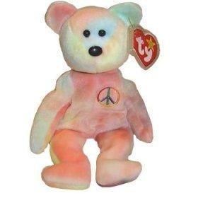 Ty-Beanie-Babies-Peace-Bear