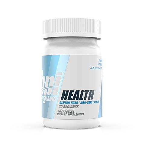BPI Performance Health – Anti-Aging, Antioxidant – Vitamin A, Vitamin E, Organic Klamath Blue Green Algae – No Artificial Colors – for Men & Women – Gluten Free – Non-GMO – Vegan – 30 Servings