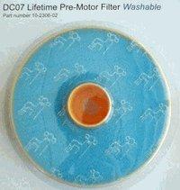 Lifetime Pre Motor - Dyson Aftermarket Washable Lifetime Pre-Motor Filter, 000022