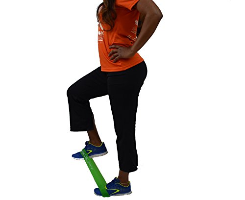 "Mixxfit Resistance Bands Flat Loop Training Exercise Bands. 3 Piece Set in Light, Medium and Heavy Resistant Levels. Home Training and Therapy/rehab Workouts. Great for Yoga and Pilates. Workout Pamphlet and Carrying Bag Included (10"" X 2"") *** Lifetime Warranty ***"
