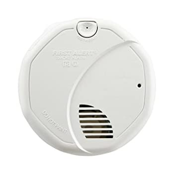 First Alert BRK 3120B Hardwire Dual Photoelectric and Ionization Sensor Smoke Alarm with Battery Backup