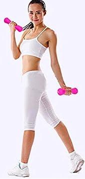 2pcs Fitness mancuernas Forrest 0,75 kg/PC para las mujeres belleza pérdida de peso ejercicio aeróbico gimnasio & Home, Azul (Sky Blue): Amazon.es: Deportes ...