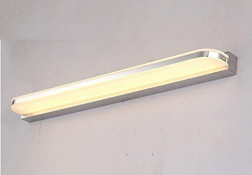 Warm Weiß-9w50cm Scofeifei wasserdichte led nebelbadezimmer Badezimmer, Spiegel (Farbe know-18 f 100 cm) (Farbe   Warm Weiß-9w50cm)