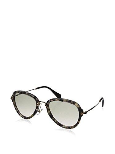Miu Miu Women's 03QS Sunglasses, Marble White - Sunglasses White Miu Miu