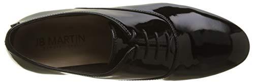 Donna Vernis Stringate Veau noir Nero Adels Scarpe Oxford Noir Jb Martin wtWnHzqtX