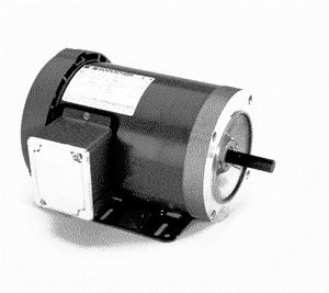 Marathon J061 56J Frame Totally Enclosed 56T34F5342 Jet Pump Motor, 1/2 hp, 3600 rpm, 208-230/460 VAC, 3 Phase, 1 Speed, Ball Bearing, C-Face with (Three Phase Jet Pump)