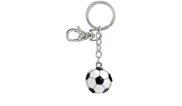 Ten Llavero Balón de fútbol Blanco y Negro cod.EL3068 cm 10x3x3h ...
