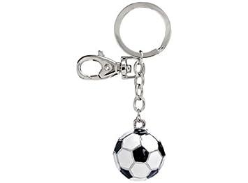 Ten Llavero Balón de fútbol Blanco y Negro cod.EL3068 cm ...