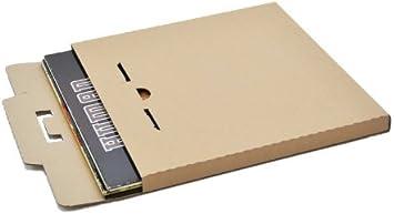 25 St Deluxe LP Versandkartons für 1-3 Vinyl LP/'s 325x325x12 mm stark