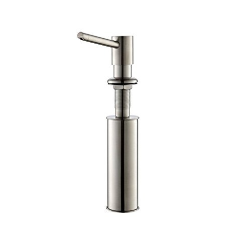Zuhne Stainless Countertop Soap Dispenser