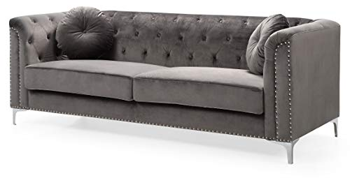 Glory Furniture Pompano G782A-S Sofa, Dark Gray. Living Room Furniture 31