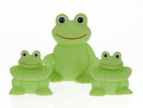 Vital Baby Play 'n' Splash Family, Frogs, 3 Pack