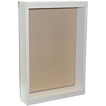 Freedom Pet Pass Wall Mounted Energy Efficient Extreme Weather Dog Door With Insulated Flap