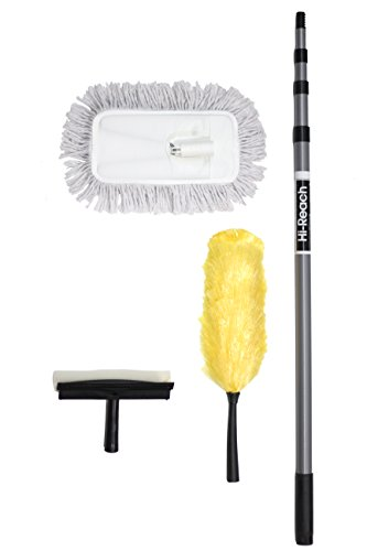 High Reach Cleaning Kit With 10 Foot Extension Pole