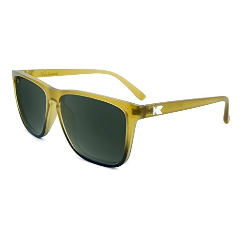 Lanes Sunglasses Fast Fade Aviator Frosted Amber Polarized Knockaround Green q546C6