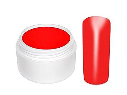 Gel UV de color para las uñas y las uñas postizas - ROJO PASION- 5