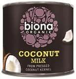 Biona Organic Coconut Milk Pack of 6(200 ml)