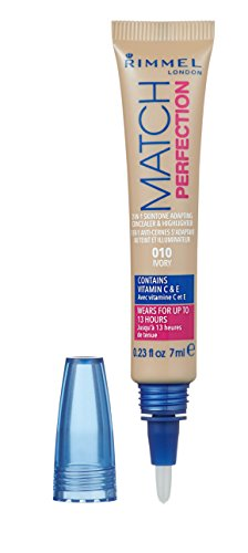 Rimmel London Match Perfection 2-in-1 Skin Tone Adapting Concealer &...