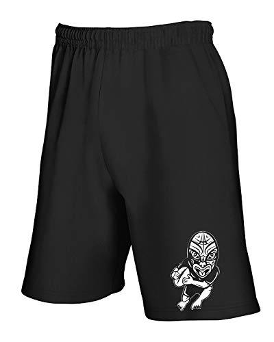 T shirtshock Pantaloncini Rugby Trug0117 Maori Player Tuta Nero 77rq4