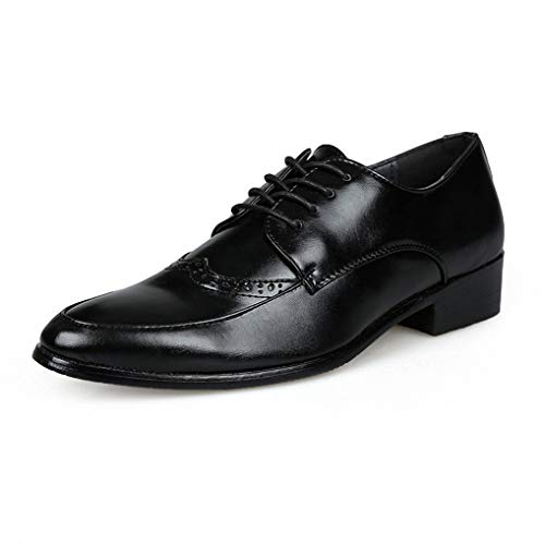 - Starttwin Men's Oxfords Shoes Autumn Winter Breathable Antiskid Formal Dress Shoes