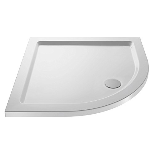 Premier NTP106 Quad Shower Tray 900x900mm, Silver, 900 mm x 900 mm