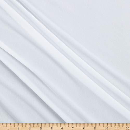 Sportek International Swimwear and Intimates Lining Fabric, White, Fabric By The Yard