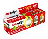 RAINDRAIN Automatic Universal Downspout Extension 46 In. (White)