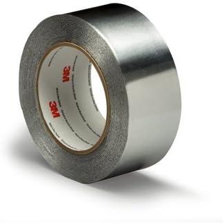 3 M Cinta Adhesiva aislante aluminio 75 mm x 3 m: Amazon.es ...