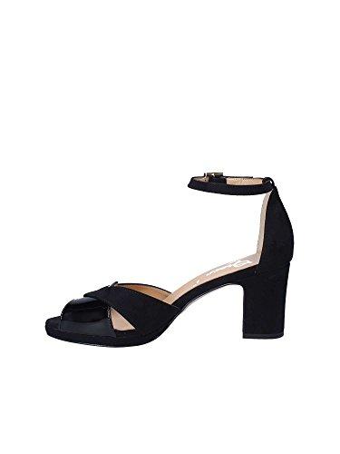Grace Donna 1153 Blu Shoes Tacco Sandalo rnr7R1a