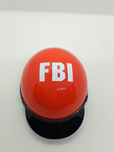 Ar FBI Pet Dog Helmet Cap Hat PVC Doggie Puppy Riding Motorcycles Bike Helmet Sun Rain Protection for Small Pet by Ar