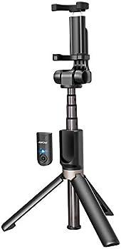 Mpow 2-in-1 Bluetooth Selfie Stick Tripod w/ Wireless Remote Shutter