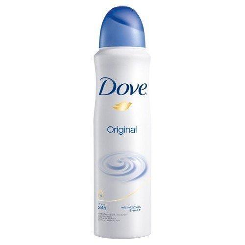 Dove Antiperspirant Body Spray 150ml Original 2-Pack