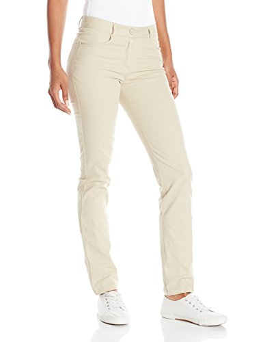IZOD Junior's Uniform Stretch Twill Skinny Pant, Khaki, 9