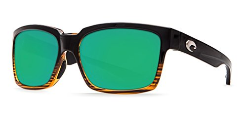Costa Del Mar Playa Polarized Sunglasses Frame: Coconut Fade / Lens: Green Mirror