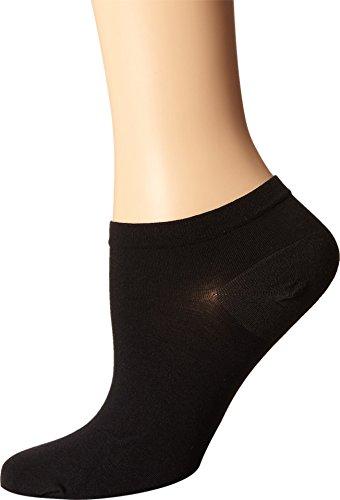 (Wolford Women's Sneaker Cotton Socks, Black, Medium)