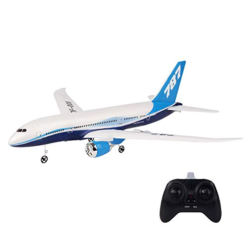 RC Airplane Ready to Fly with 2.4GHz Control Remote Control Airplane Mini RTF RC Toys Aircraft, 6-Axis Gyro, One-Key Return Function, Easy to Fly for Beginners (White-4)