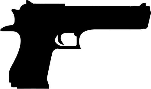 Desert Eagle Israel 50 Cal Handgun Vinyl Decal Sticker Bumper Car Truck Window- 10