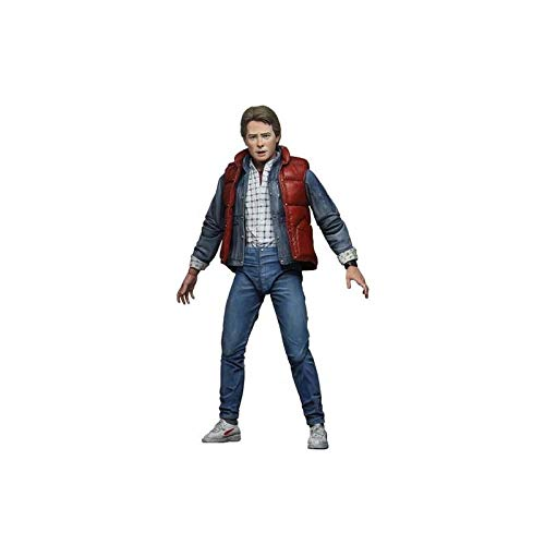 NECA Back to The Future Marty McFly Action Figure [Ultimate Version, Red