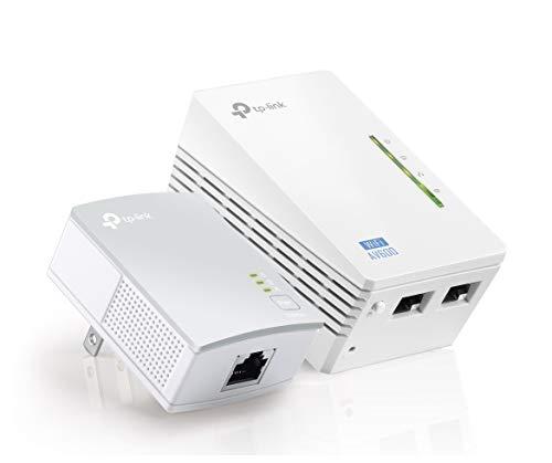 TP-Link AV500 2-port Powerline wifi Extender, Powerline Adapter with wifi, 2 Kits (TL-WPA4220 KIT) by TP-Link (Image #5)