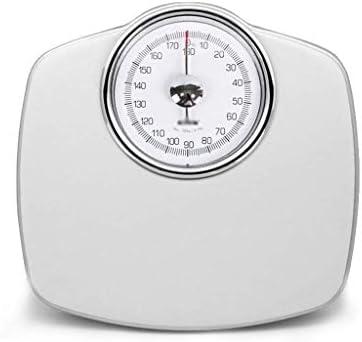 ZAQXSC-dzc 機械的スケール小さな家庭用成人体重計男性電子スケール女性精密薬局とスケール (Color : White)