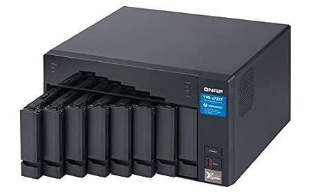 10GbE M.2 PCIe Nvme SSD Slots QNAP TVS-672XT 6 Bay Thunderbolt 3 NAS with 8GB RAM