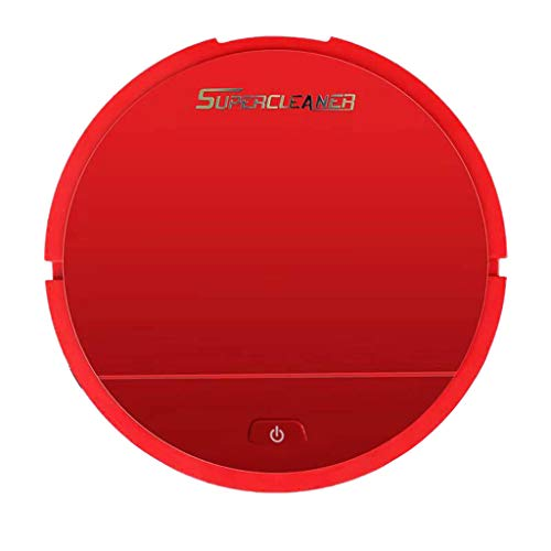 (SAQIMA Vacuum Cleaner Turn Automatic Vacuum Strong Suction Home Sweeping Smart Clean Robot Durable Professional (A-Red))