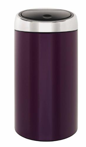 Amazon.com: Brabantia Touch Bin de Luxe 45-liter,), color ...